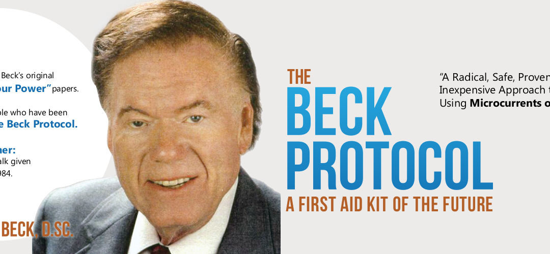 THE BECK PROTOCOL A FIRST AID KIT OF THE FUTURE