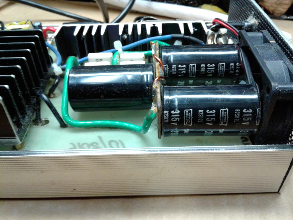 BBM Pulser Capacitors bank