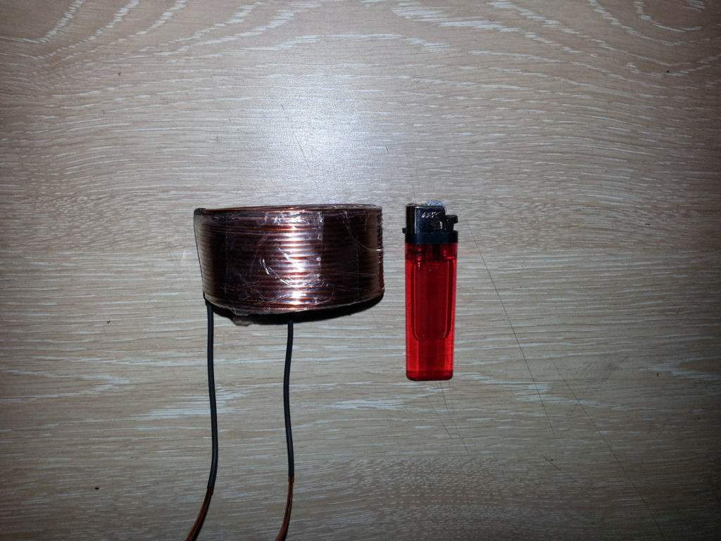 BBM Pulser first model the coil pic 3