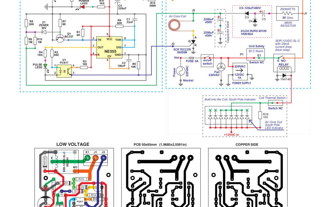BBMPulser 4B 220Volt Circuit