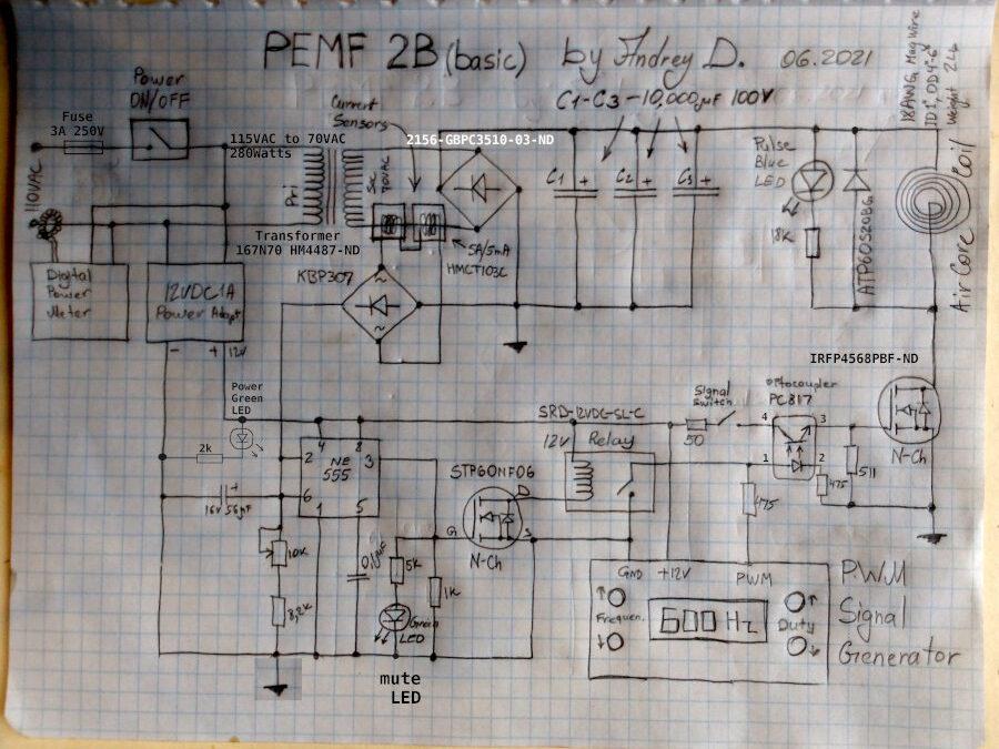PEMF 2B Circuit